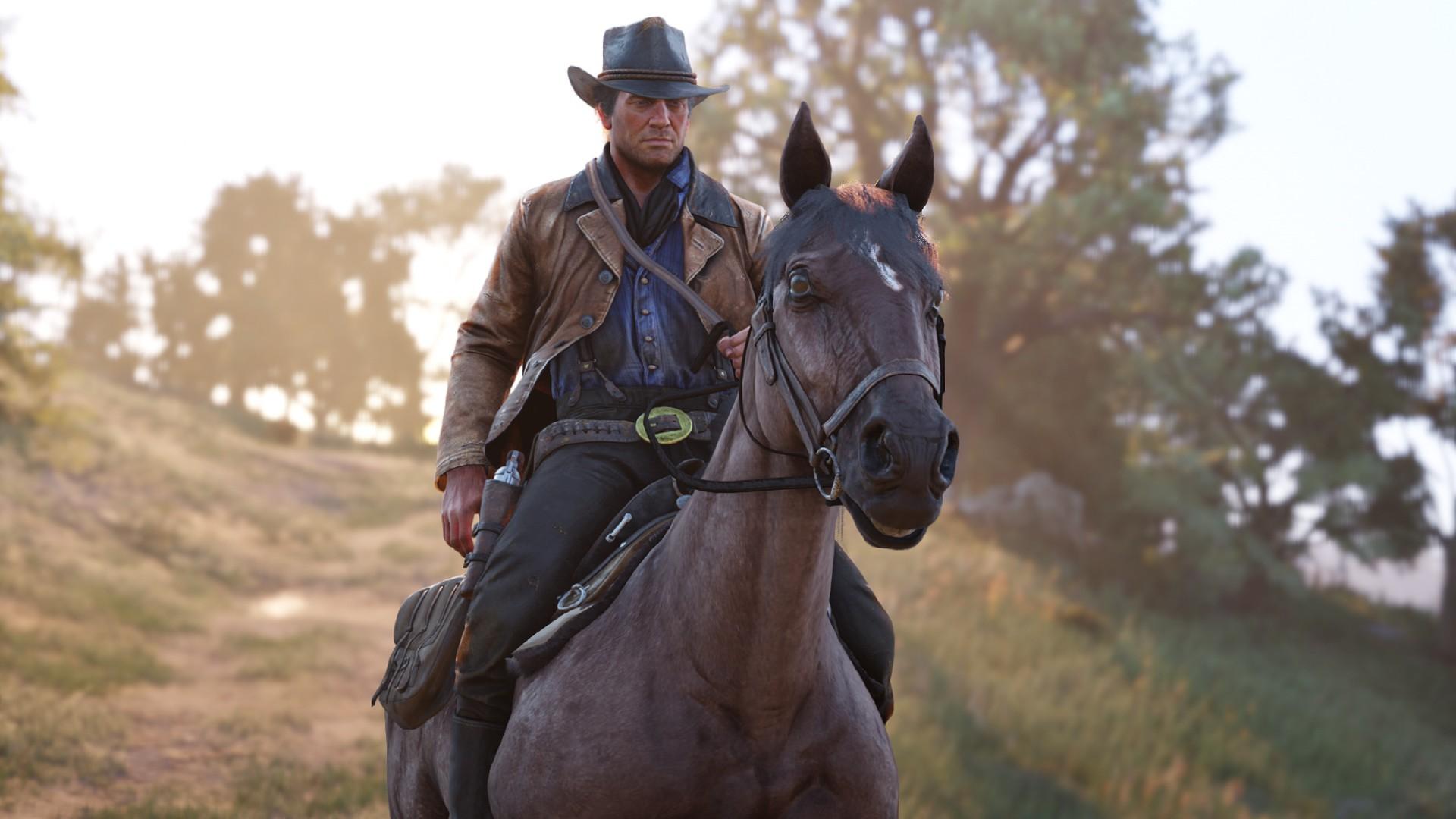 《荒野大鏢客2》這細節很有趣:馬匹的蛋蛋會熱脹冷縮