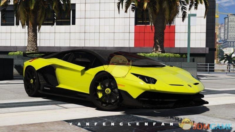 《侠盗猎车5》2019款兰博基尼Aventador SVJ MOD