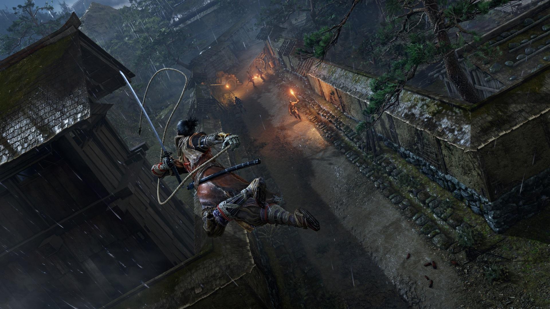 《只狼》 包含玩家熟悉的中心区域 三名NPC全程辅助