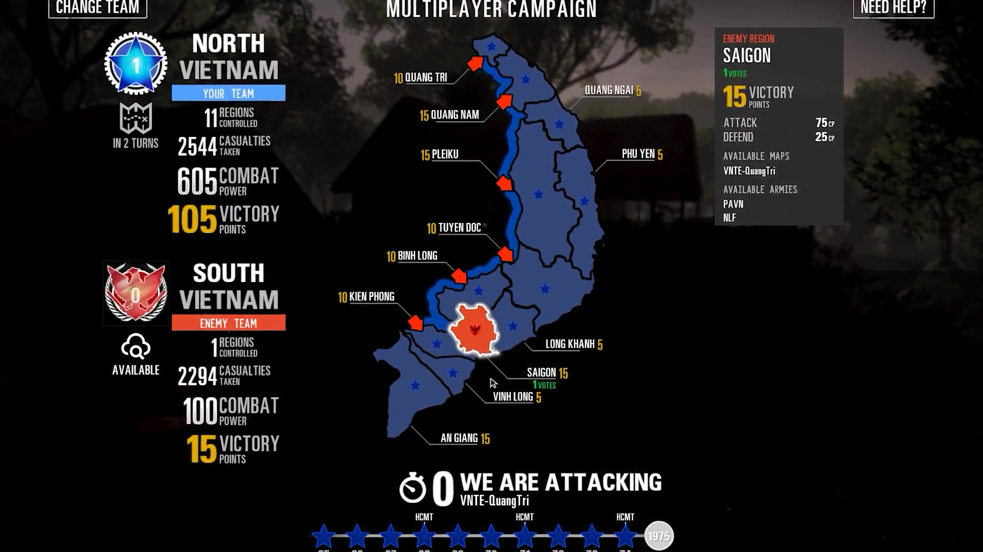 《风起云涌2:越南》 增加多人游戏战役 支持64名玩家