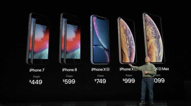 iPhoneXS卖10099元但成本有多少?2600元