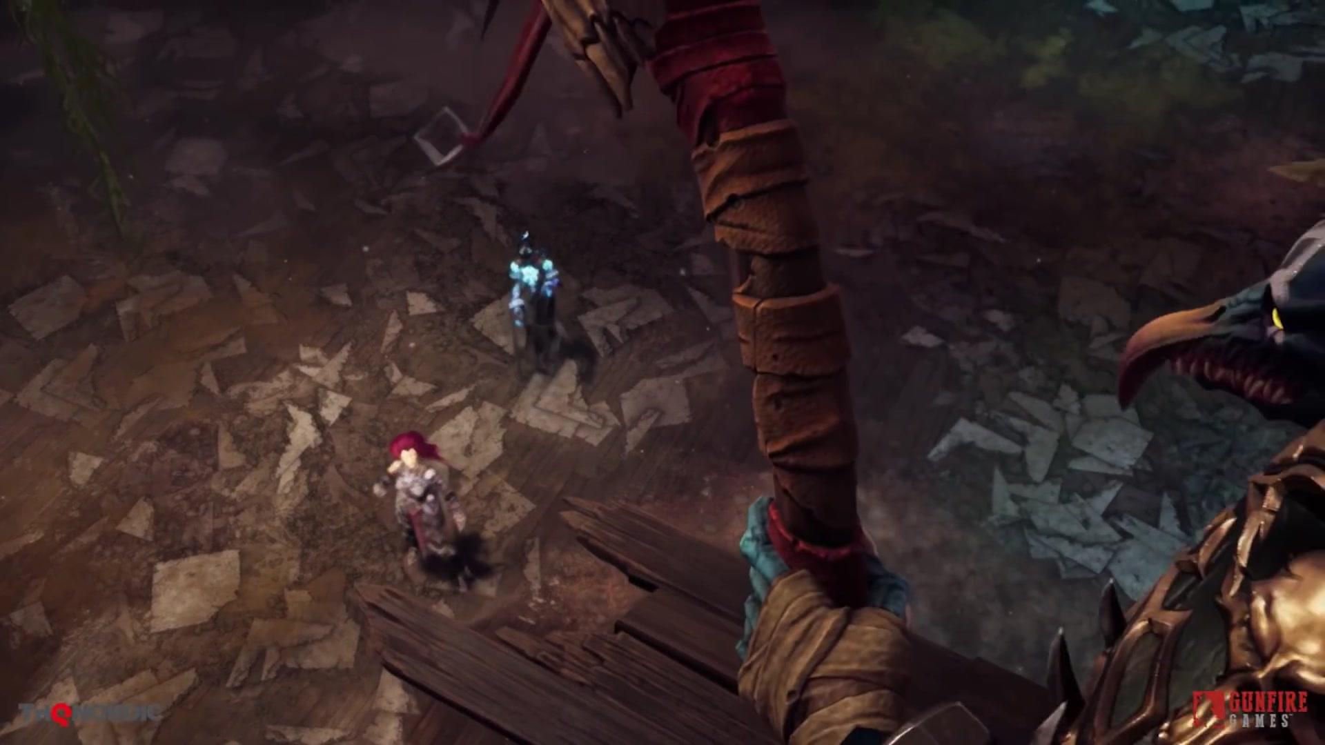战争之后满目疮痍 《暗黑血统3》再曝新游戏画面