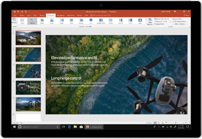 如期而至 微软发布Windows和Mac版 《Office 2019》