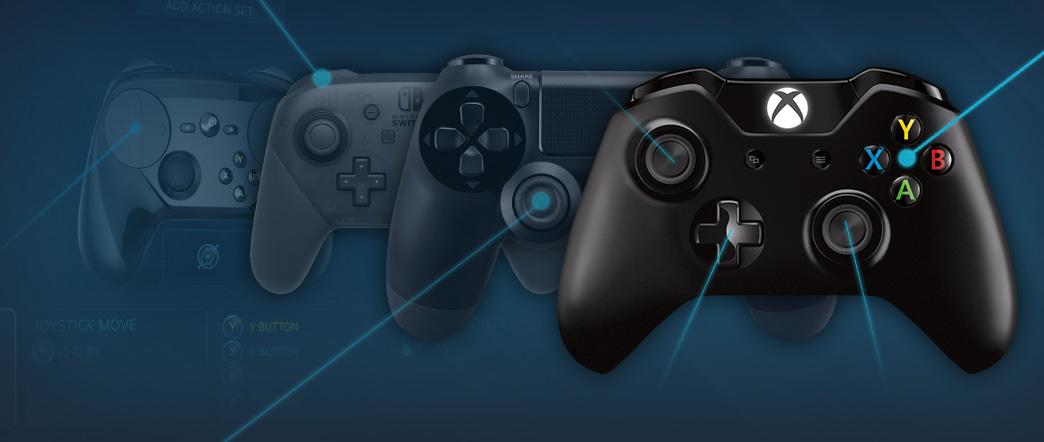 Steam发布手柄调查:Xbox 360手柄最受欢迎