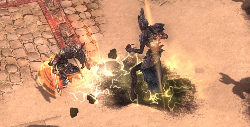 """《恐怖黎明》DLC""""被遗忘的众神"""" 新职业剑盾战士曝光"""