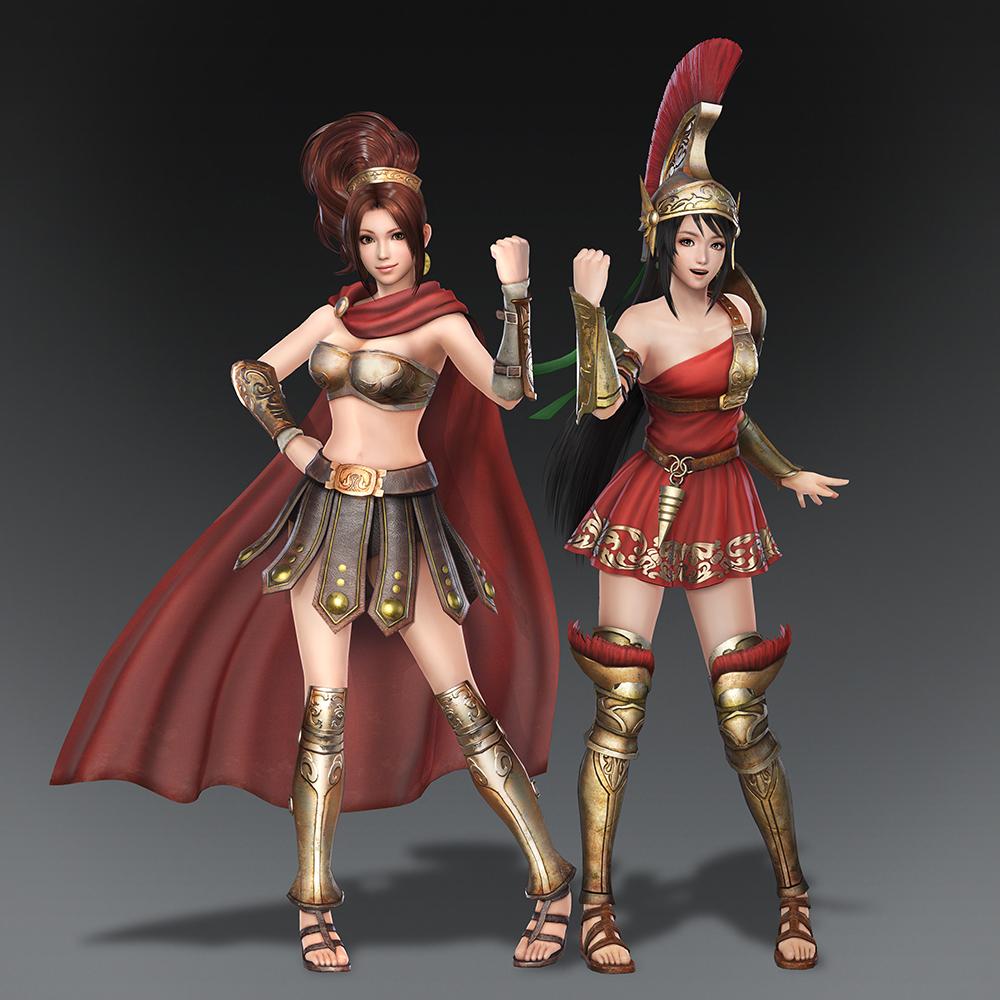 《无双大蛇3》主机版发售 追加DLC第一弹王元姬服装发布