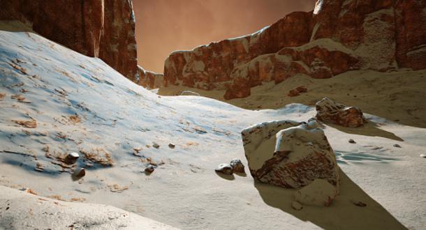 《火星记忆》第三赛季上线,新增冰川地形