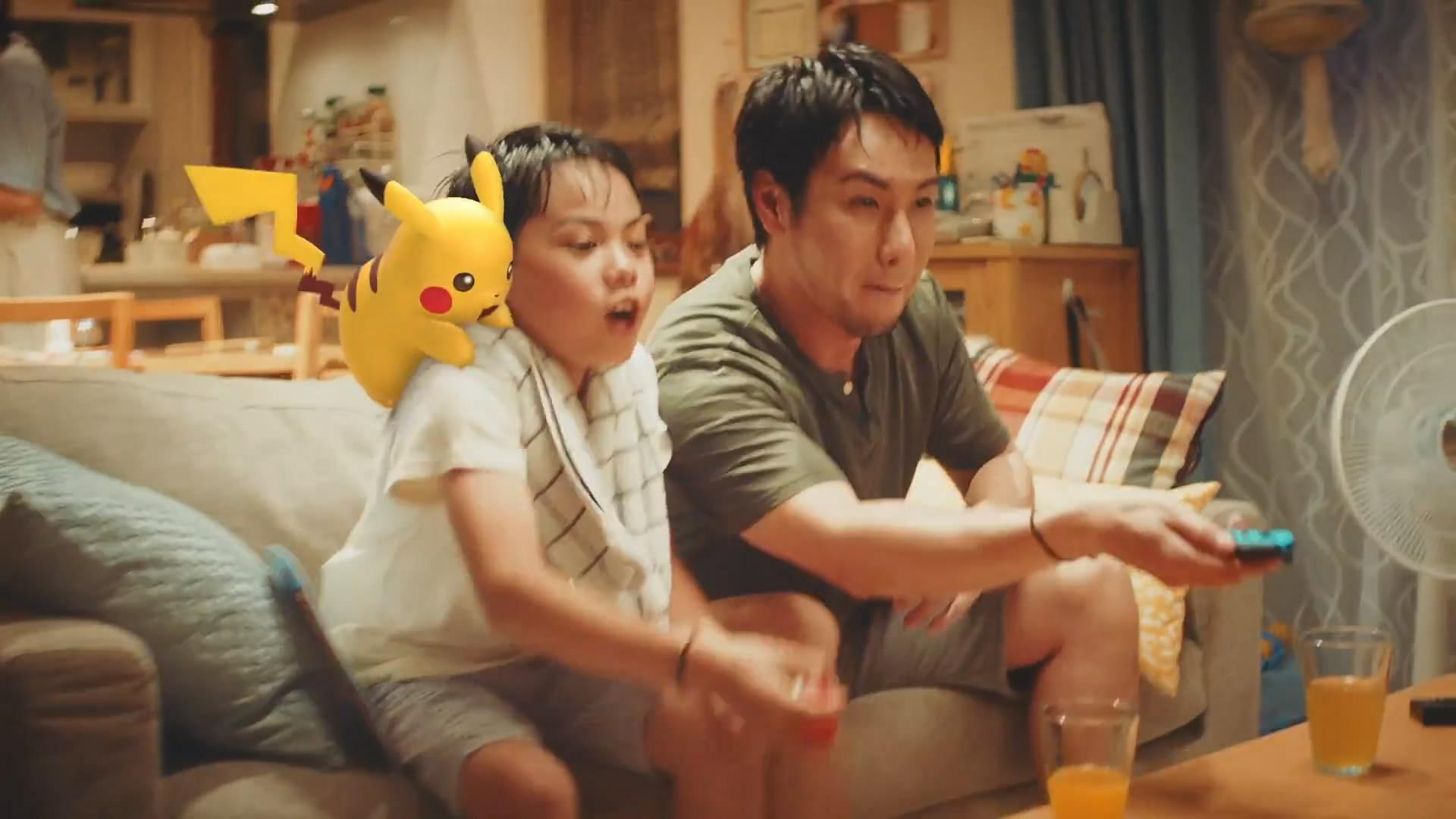 《精灵宝可梦Let's Go》 中文预告公布 带上皮卡丘战斗吧