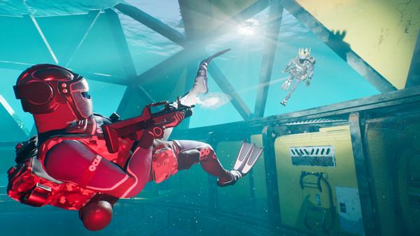 百人水下吃雞 本周末《潮汐之王》開啟免費試玩活動