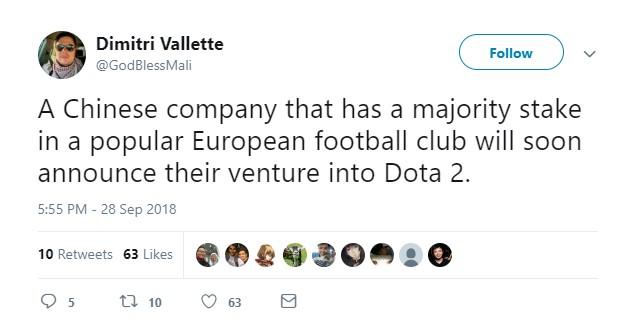 传苏宁将组建《DOTA2》战队 清华研究生加入