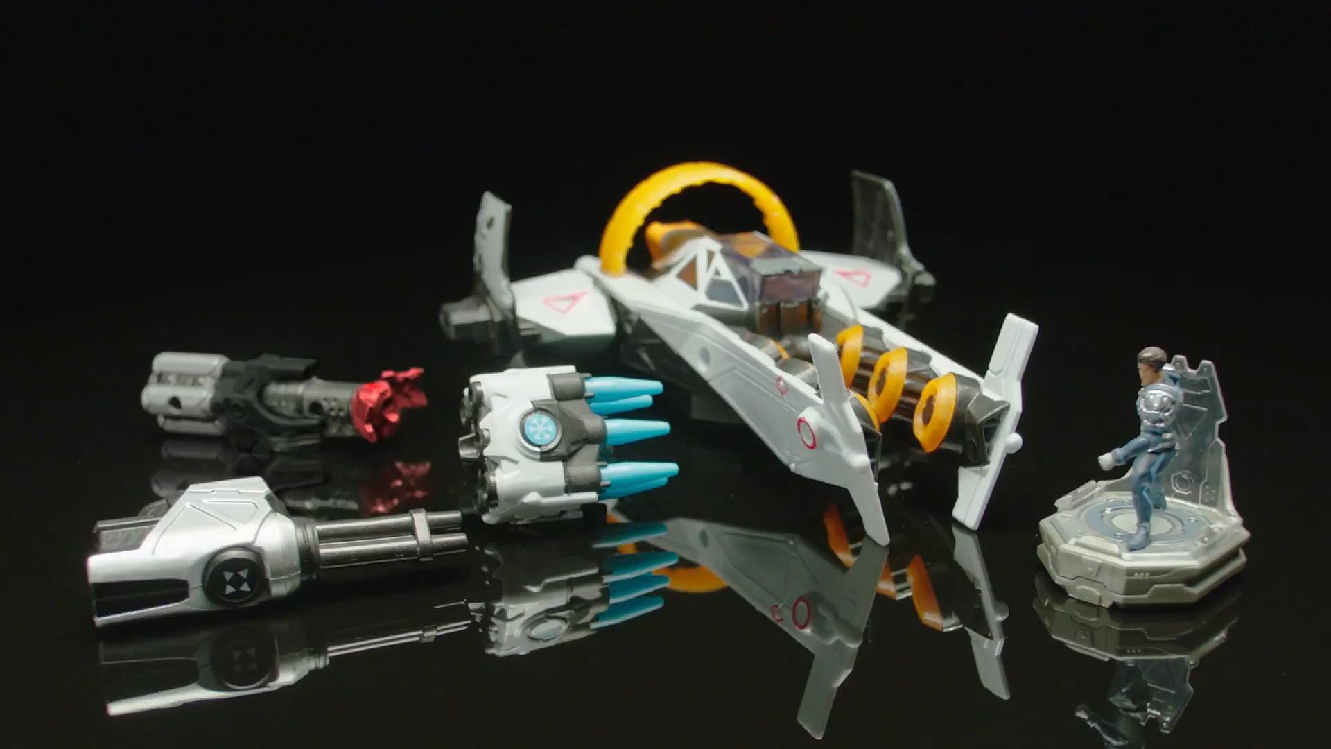 空战全新玩法!育碧《银河联军:阿特拉斯之战》搭配实体玩具