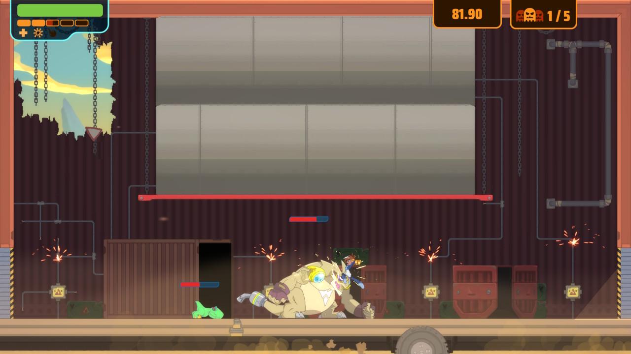 横向平台动作冒险游戏《双十字》将于1月10日发行