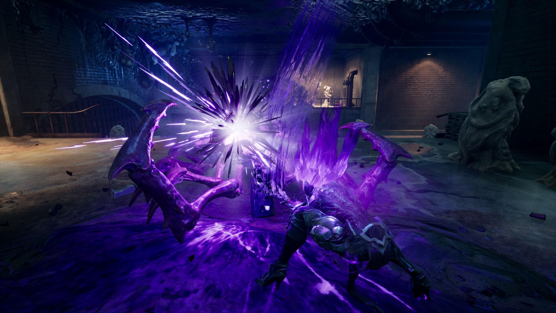 """《暗黑血统3》新截图发 紫色""""力量怒神""""形体曝光"""