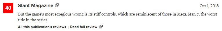 《洛克人11》IGN7.5分 接近经典同时也是一个好的新开端