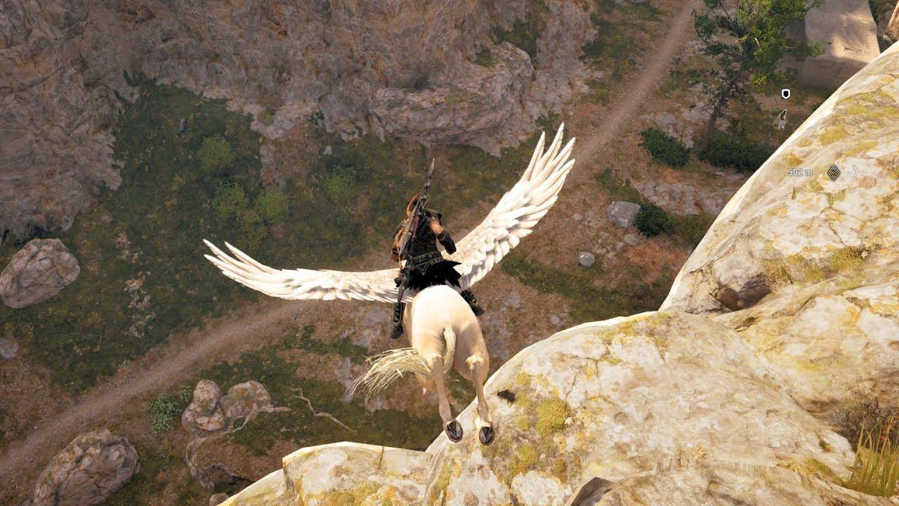 在《刺客信条:奥德赛》中 希腊神话中的知名飞马却不能飞