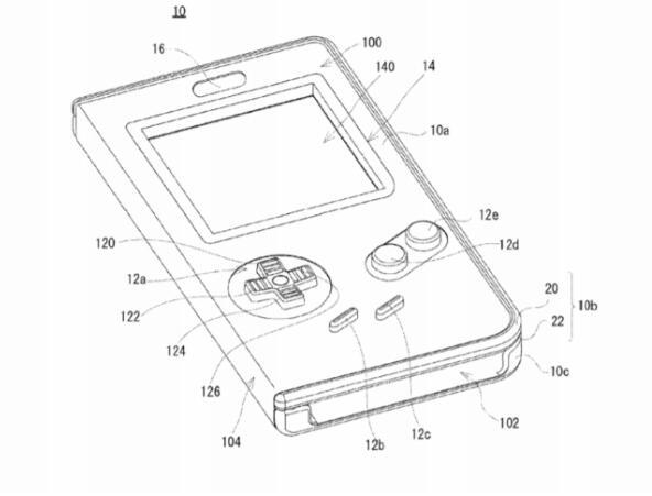 任天堂新专利曝光:官方正版手机壳 秒变GameBoy?
