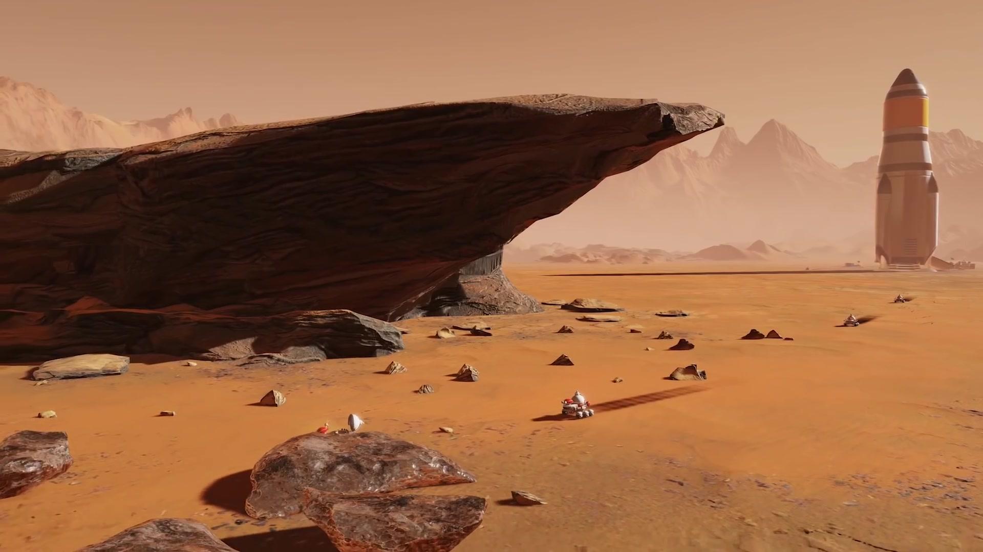 """《火星求生》资料片""""太空竞赛""""公布 年末发售"""