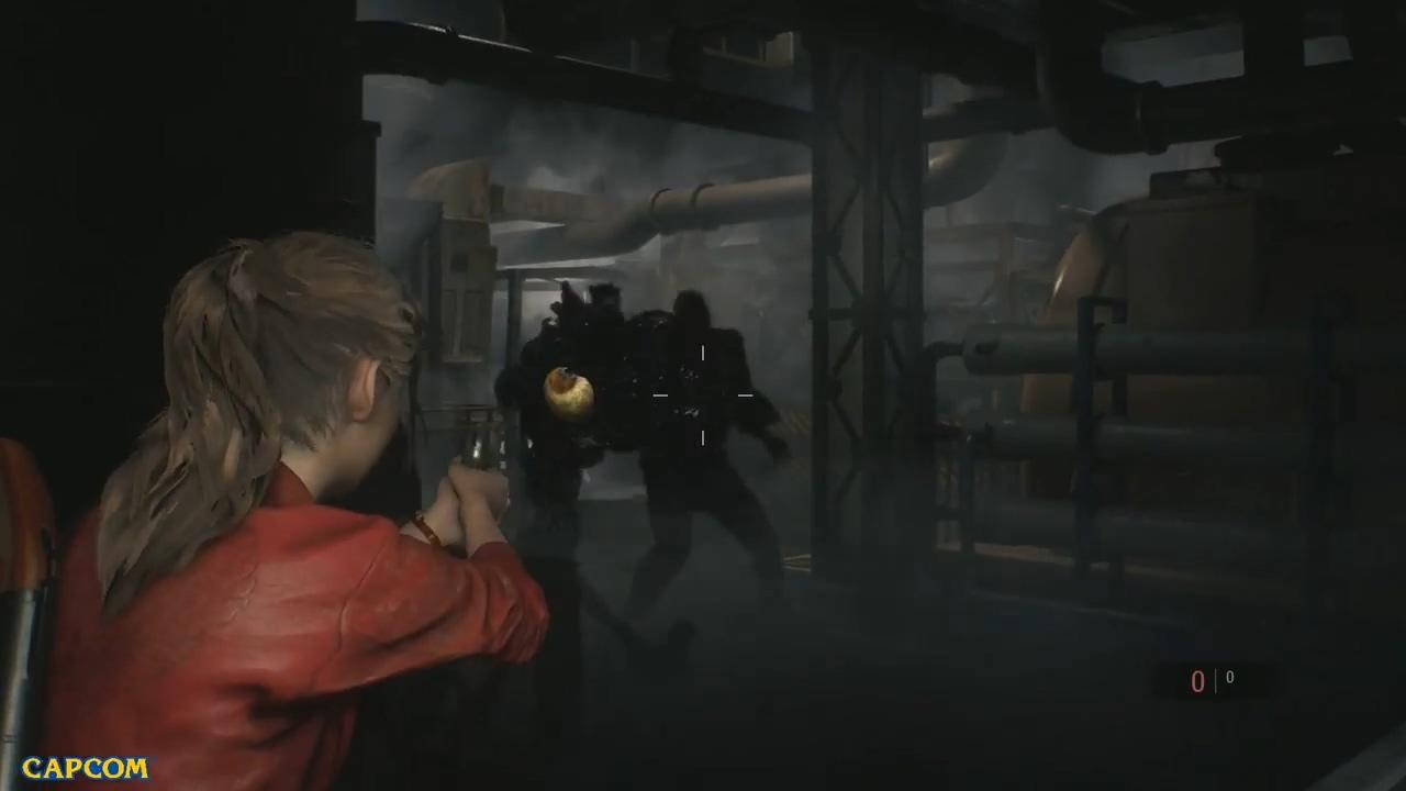 《生化危机2:重制版》30分钟演示 展示两种不同风格的Boss战