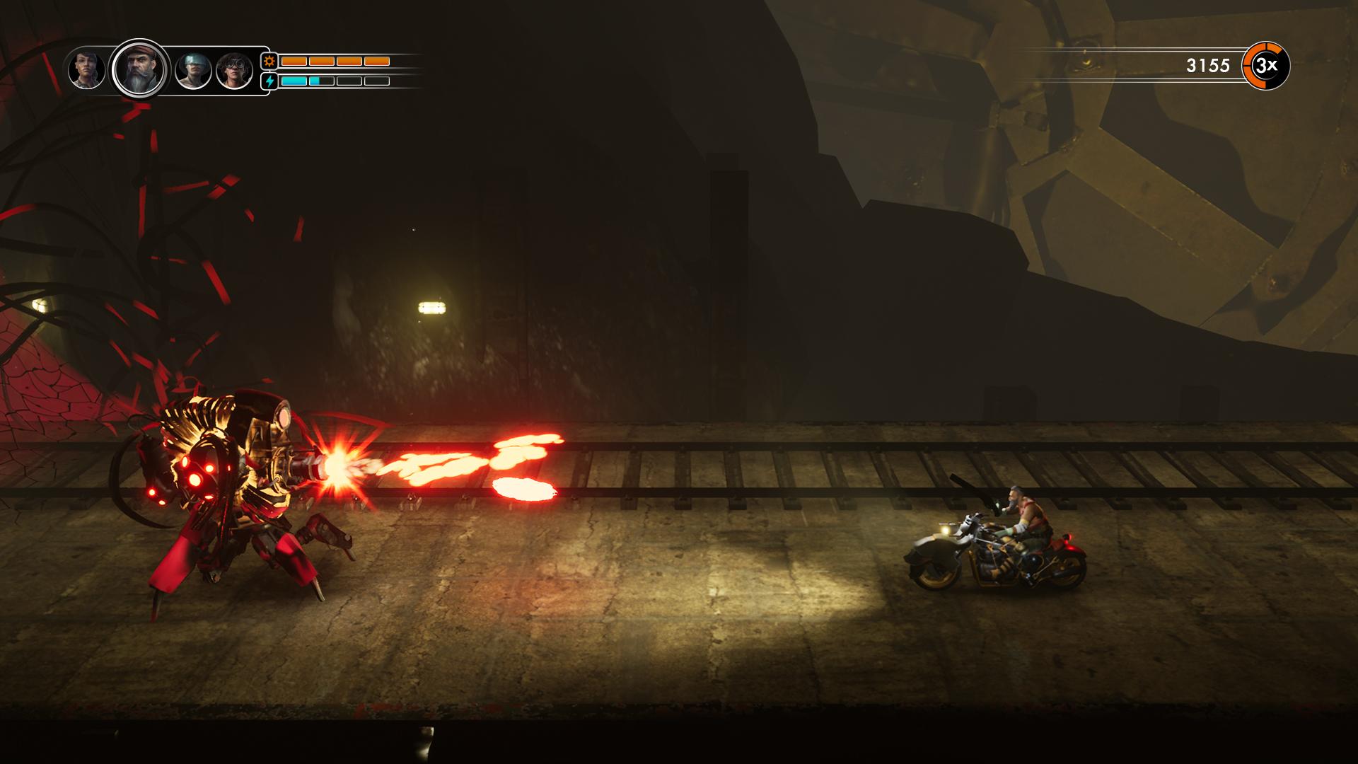 骑着摩托打怪兽 《钢铁之鼠》下月正式登陆PC
