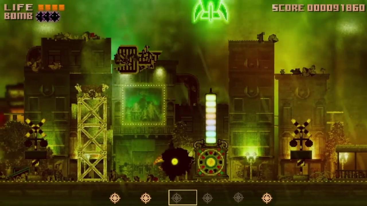 日本独立横版射击游戏《黑鸟》公布新视频 上市日期公布