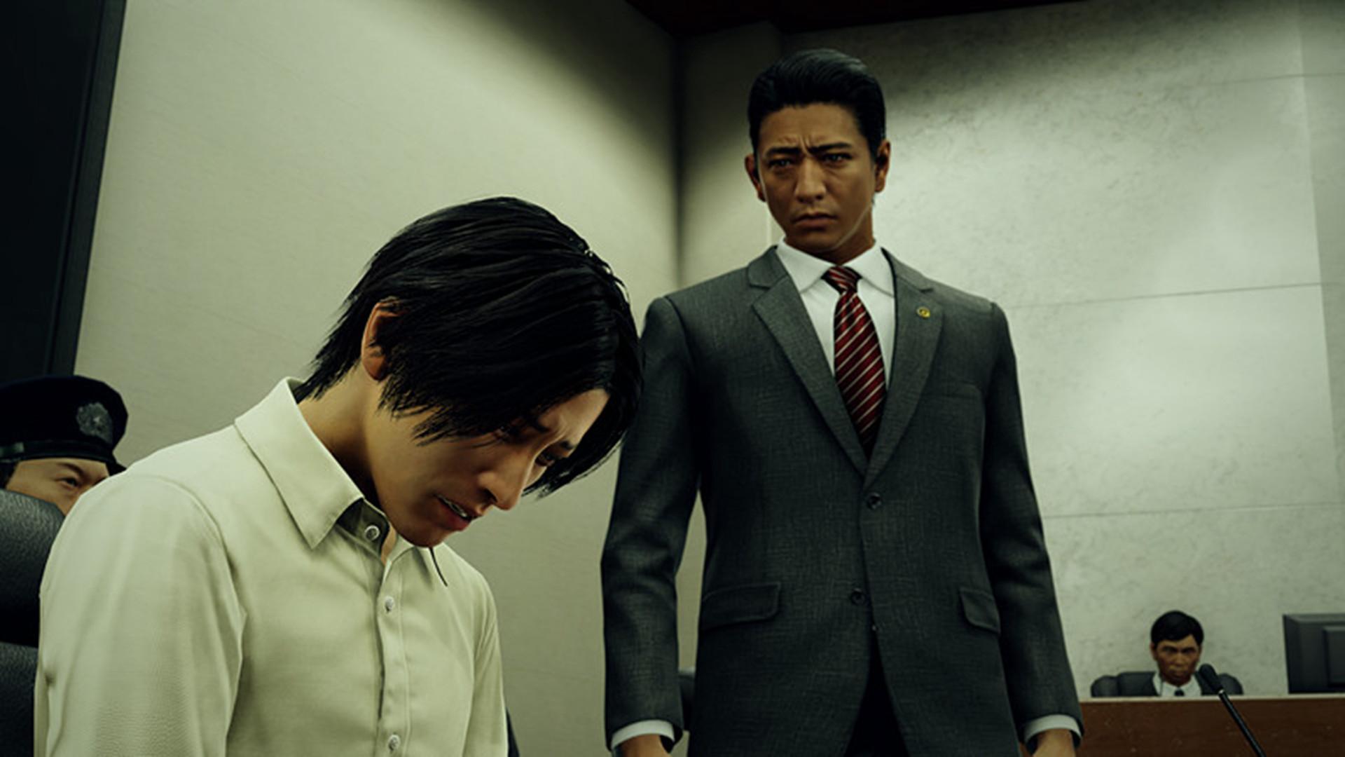 《审判之眼:死神的遗言》 截图 展示角色情报与系统