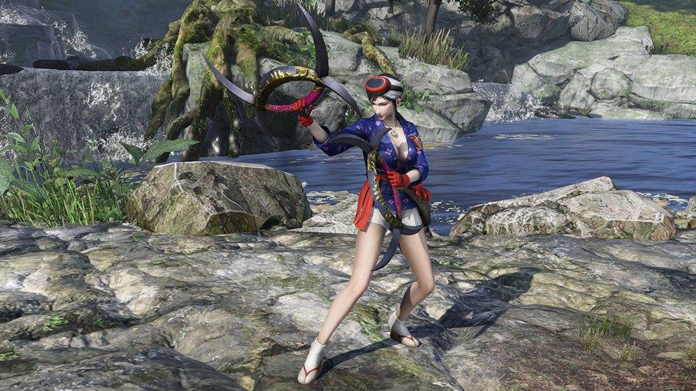 《无双大蛇3》第二弹服装DLC公布 妹子穿黑丝网袜秀美腿