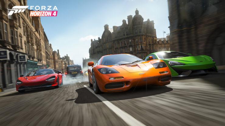 《极限竞速:地平线4》游戏与现实对比 画面以假乱真