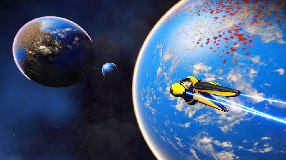 《无人深空》1.63版更新补丁发布 全新飞船带你探索宇宙