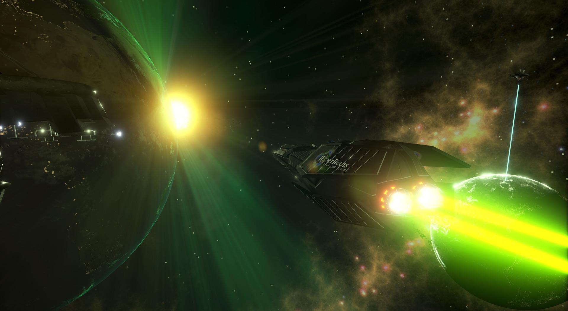 喜加一!太空模拟飞行射击《演化》Steam免费领
