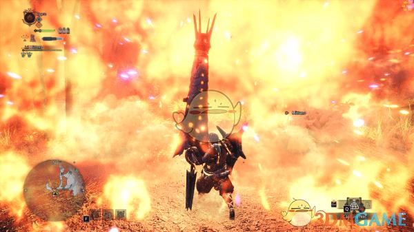 《怪物猎人:世界》铳枪龙击弹炎王龙特效MOD