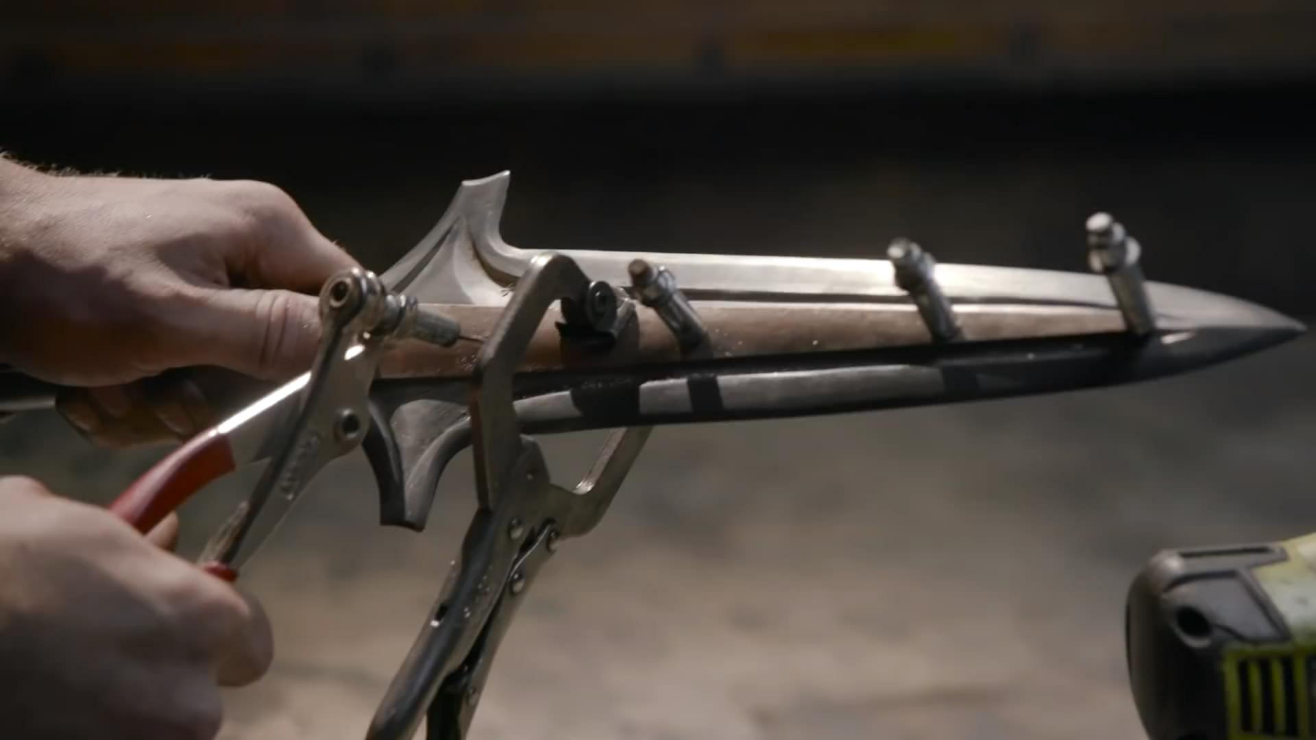 砍瓜切菜 武器人间打造《刺客信条:奥德赛》武器