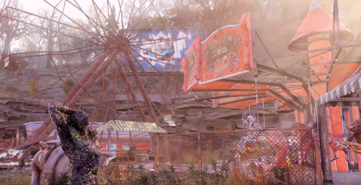 《辐射76》首批实机试玩放出 游戏内容大梳理