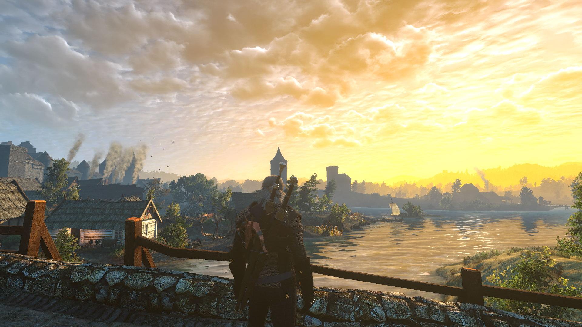 《巫师3》云朵和天气MOD 云朵更真实画面更惊艳