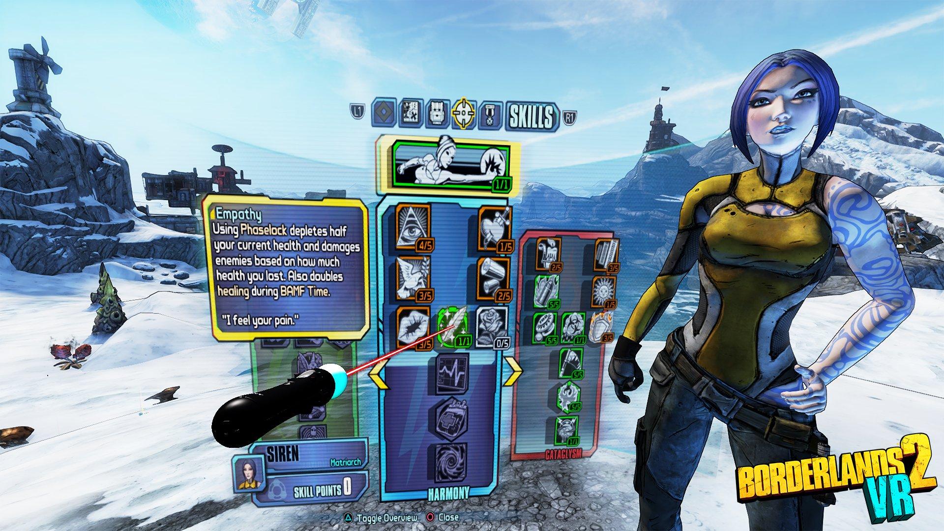 《无主之地2 VR》公布 12月发售、登陆PSVR