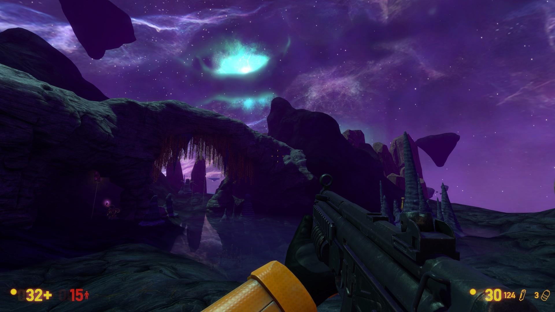 《半条命》重制版《黑山》Xen关卡新截图 画面更美了