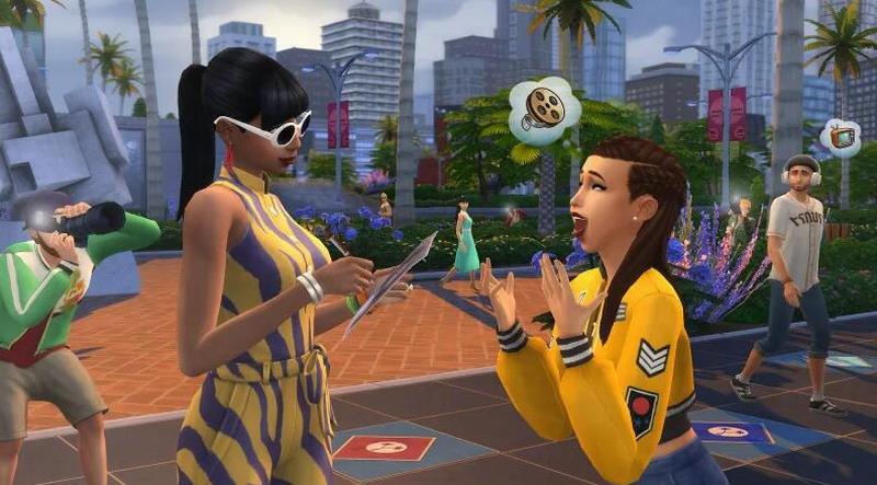 """圆你的巨星梦!《模拟人生4》新DLC""""成名在望""""公布"""