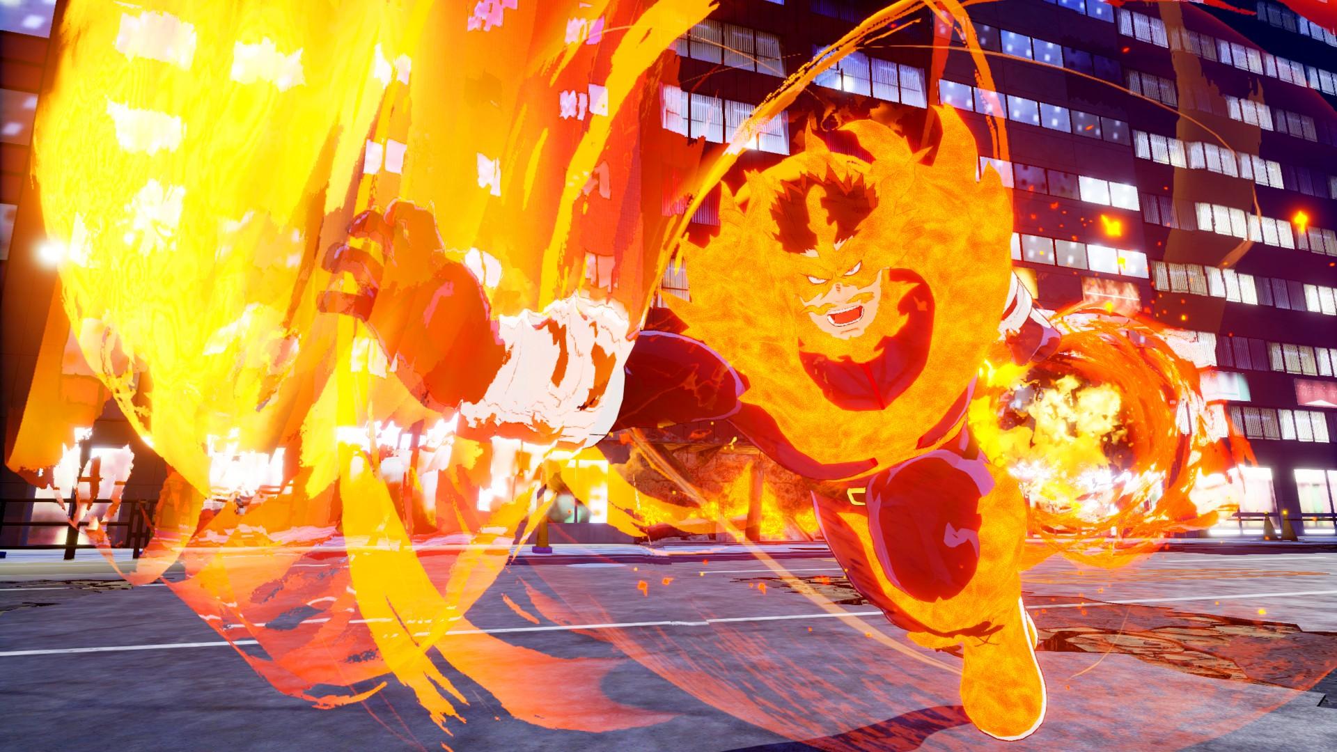 火焰壮男轰炎司参战!《我的英雄学院》最新DLC上线
