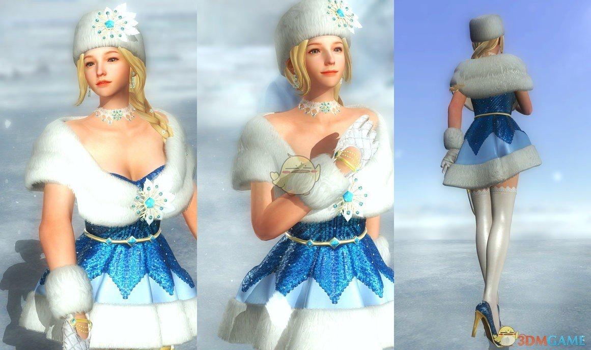 《死或生5:最后一战》冰雪女王服装MOD