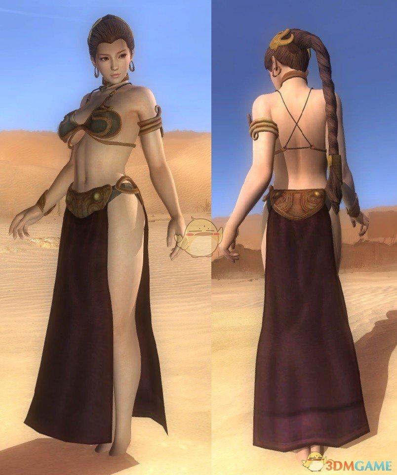 《死或生5:最后一战》Kasumi奴隶服装MOD