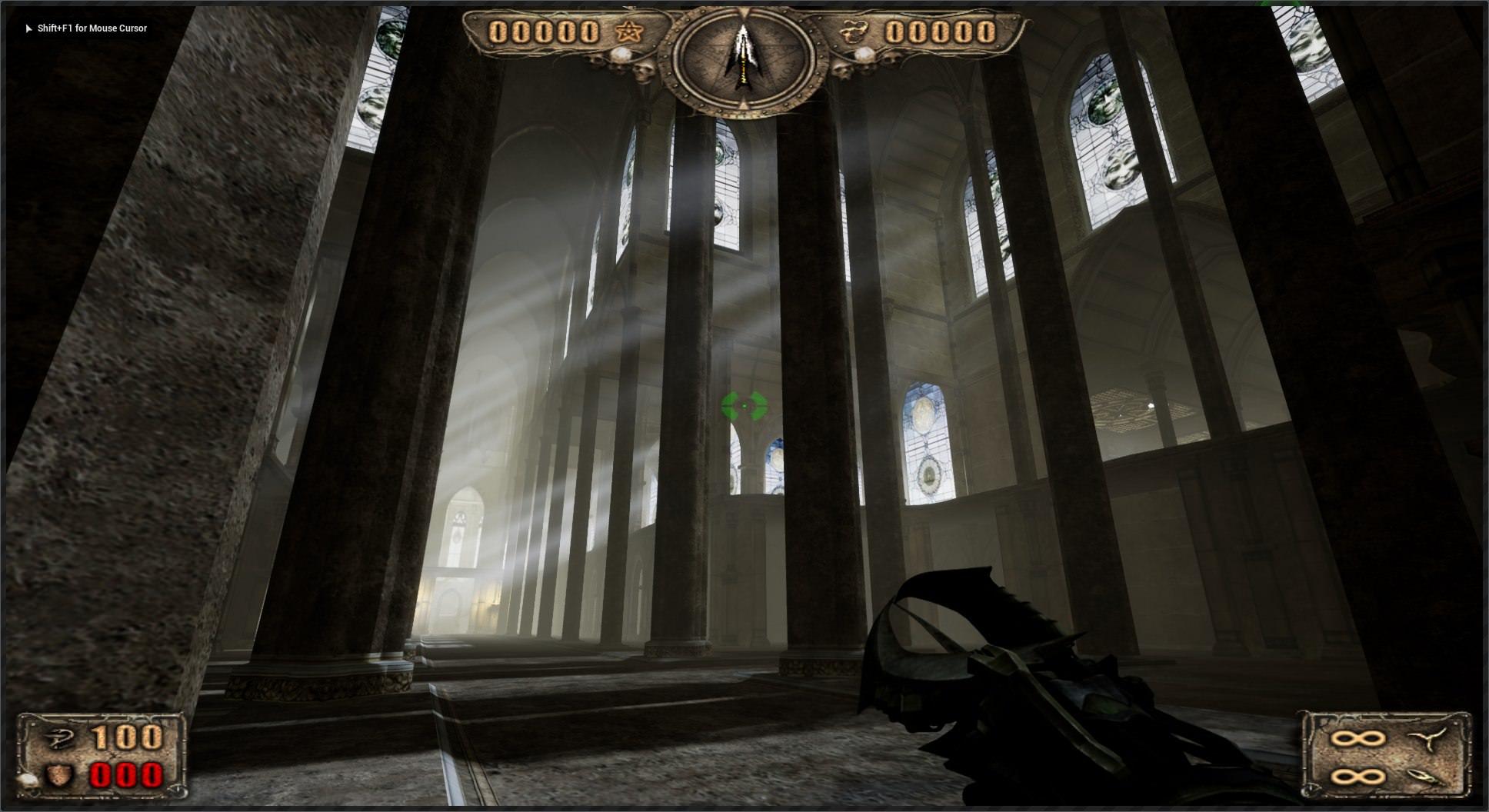 高清截圖曝光 粉絲自制虛幻4打造《獵魔者》初代