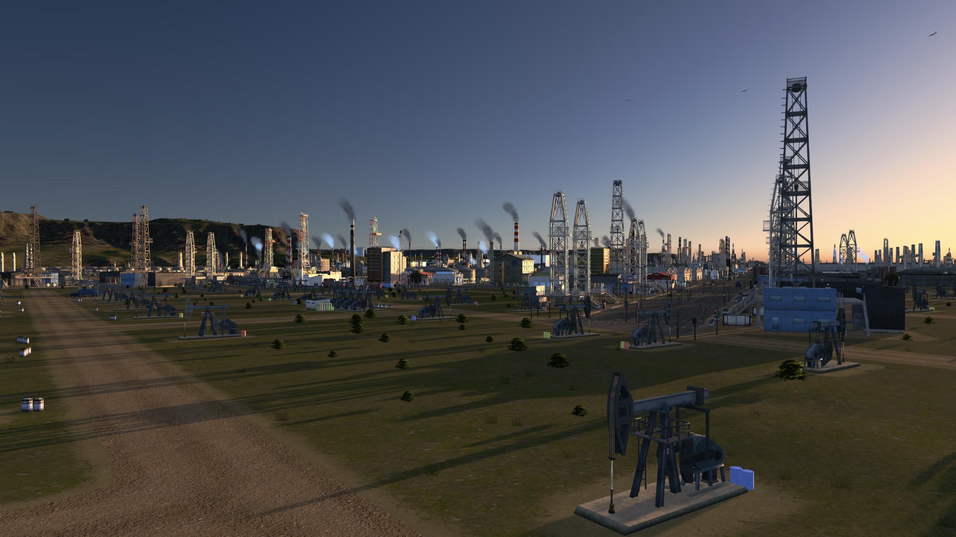 PC版《城市:天际线》10月24日推出工业扩展包