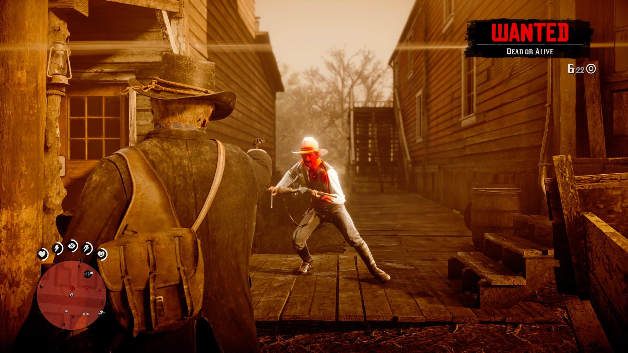 《荒野大镖客2》新截图发布 展示新的死神之眼系统