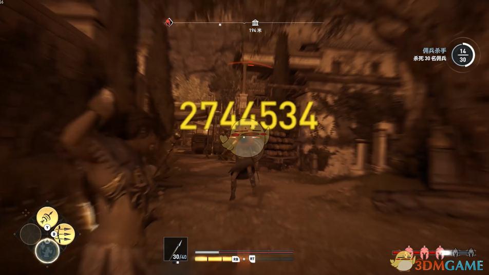 《刺客信条:奥德赛》诅咒猎人秒杀流玩法介绍
