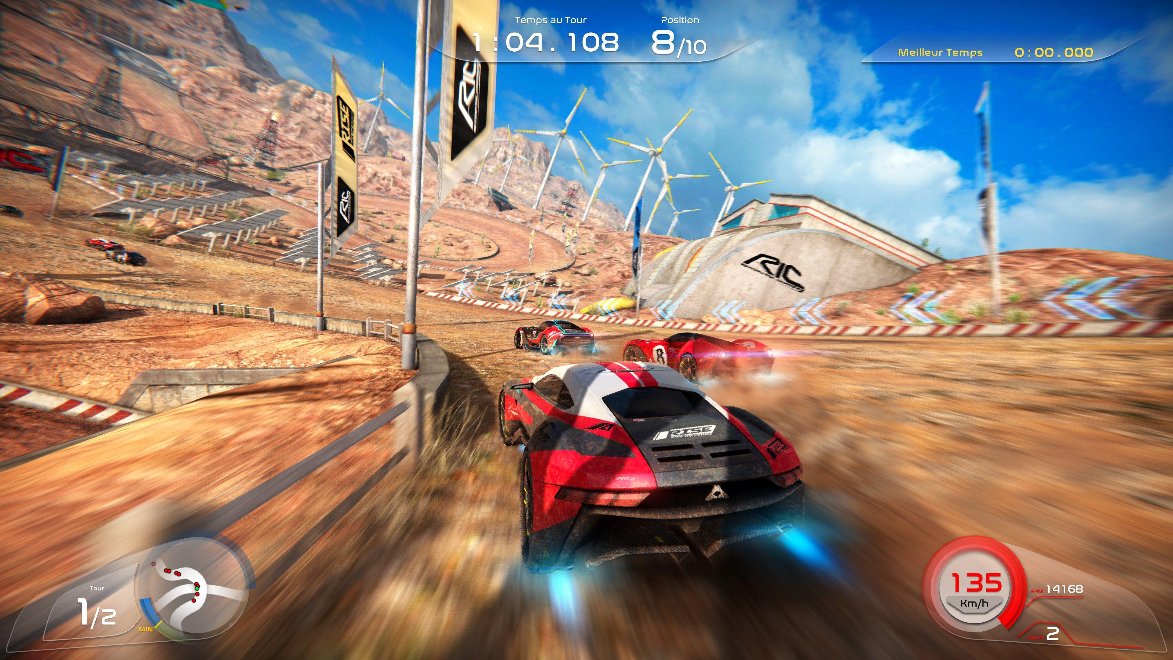 《崛起:未來競速》首張遊戲截圖公佈