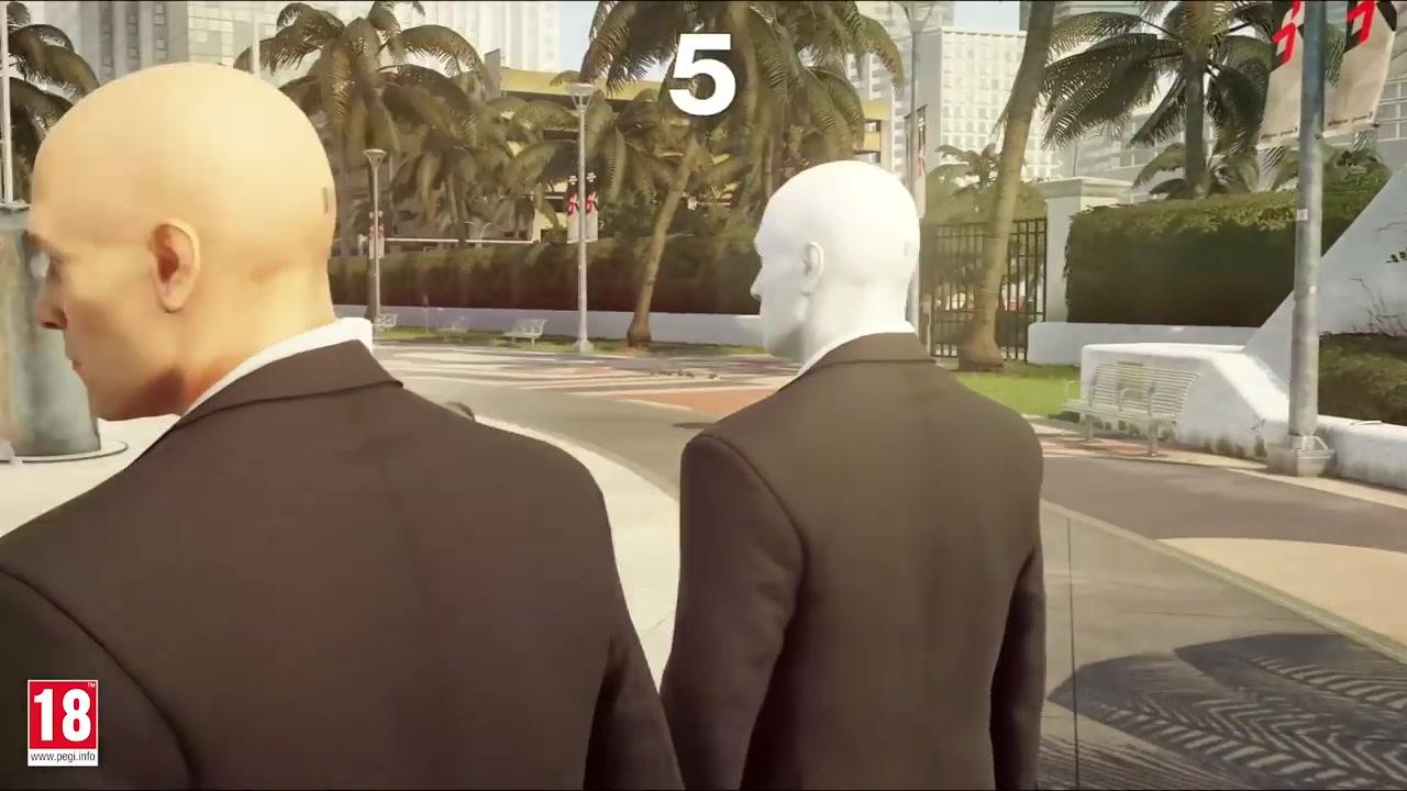 """1v1对抗 《杀手2》将加入名为""""幽灵模式""""的多人内容"""