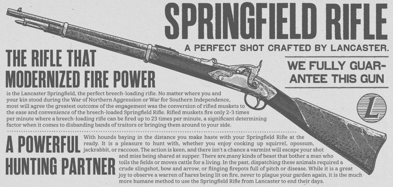 《荒野大镖客2》将有超过50款武器 武器改装和演示发布