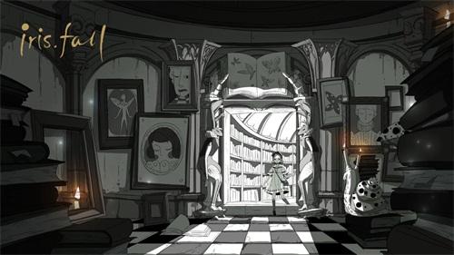 """《彩虹坠入》11月STEAM发售""""黑白""""童话即将上演"""