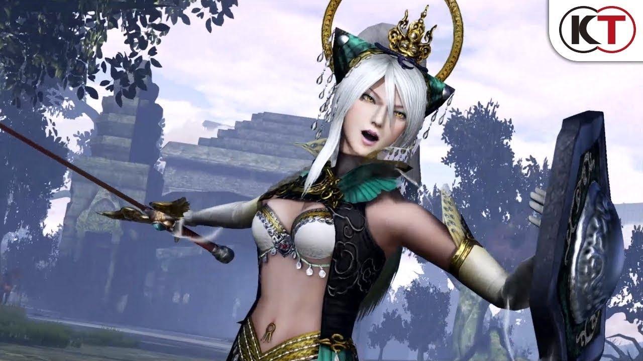 光荣特库摩《无双大蛇3》全新宣传片展示女神女娲