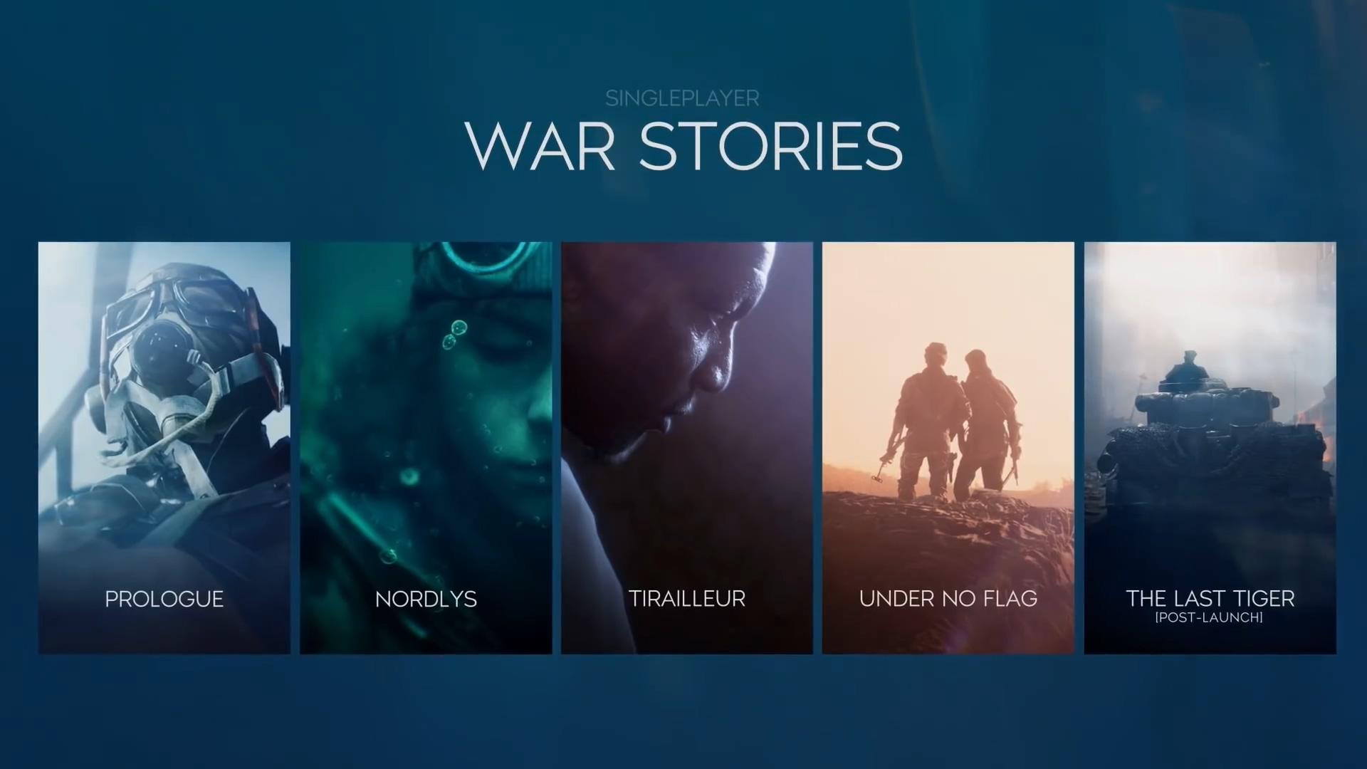 《战地5》单人战役新预告即将到来