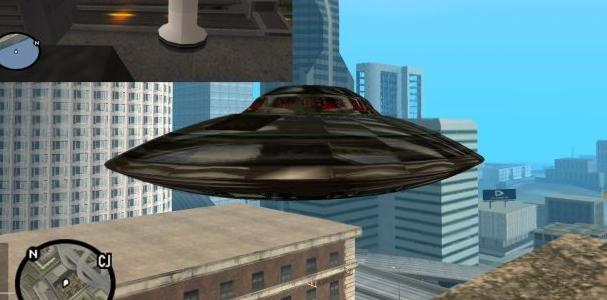 圣安地列斯ufo坠落地点在哪